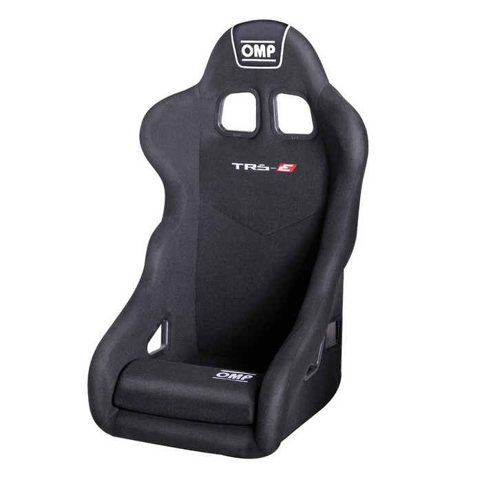 Seat OMP TR-S Racing Height Adjustable Red Velour Office Chair