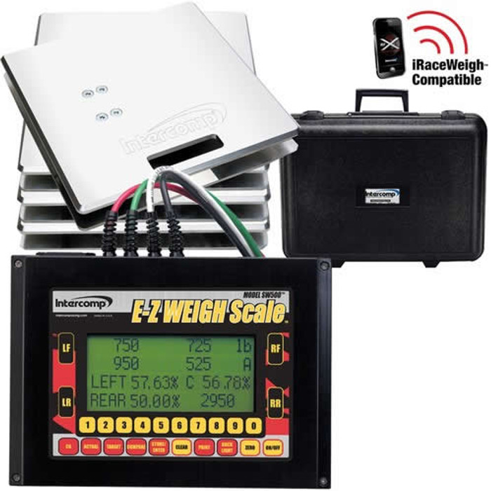 Intercomp E-Z Weigh Cabled Scale System - EARS Motorsports. Official stockists for Intercomp-170125