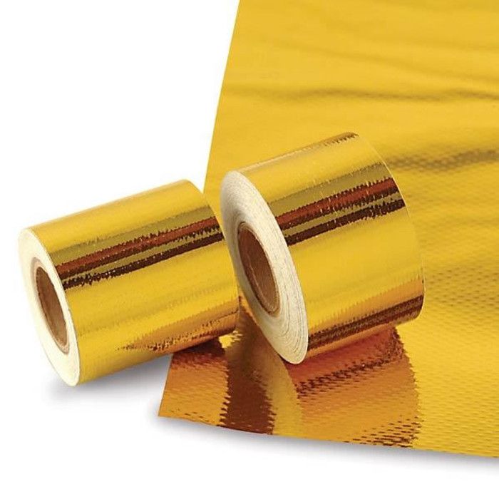 "DEI Reflect-A-Gold 12""x12"" Adhesive Sheet - EARS Motorsports. Official stockists for DEI-010391"
