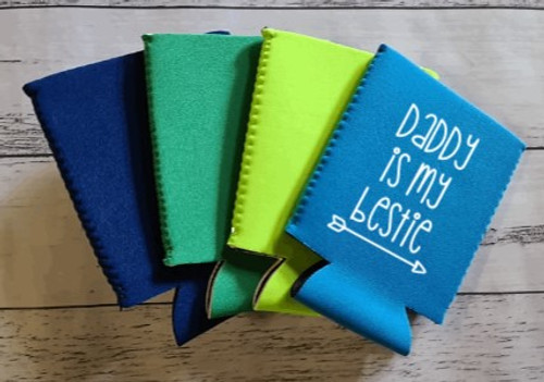 Can/stubby holder - personalised to suit your needs. Fathers Day