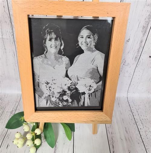 Engraved LED Photo Frame