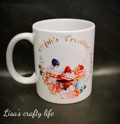 11oz ceramic custom photo mugs.  Unleash your creativity with personalized full-color graphics, photographs, texts, and more. Enjoy better drink time with a beautifully-customized product.  This Product come with single side text, please select correct placement.  White ceramic Mug holds 11 ounces.  Placement Single side, Dual Sides and Full wrap.  Glossy finish.  Microwave safe and dishwasher safe.  Made for hot beverages.  These mugs can be personalised for any occasion:  • Corporate gifts, Personalised mugs, Promotional giveaways, Photo mugs, Birthdays, Christmas, Valentine's Day, Mothers day, Fathers day .... The list is endless.
