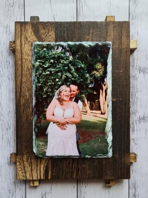 Slate Photo frame