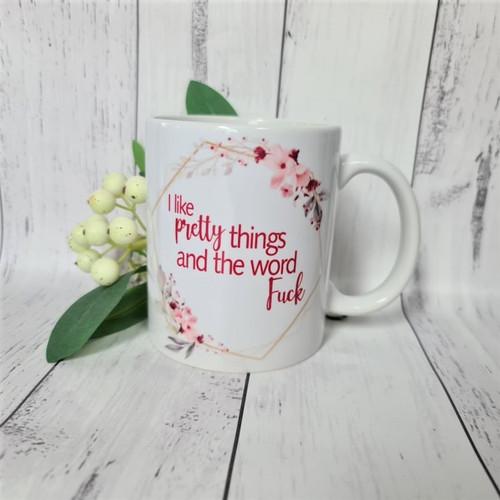 I like pretty things.... hot drinking mug.
