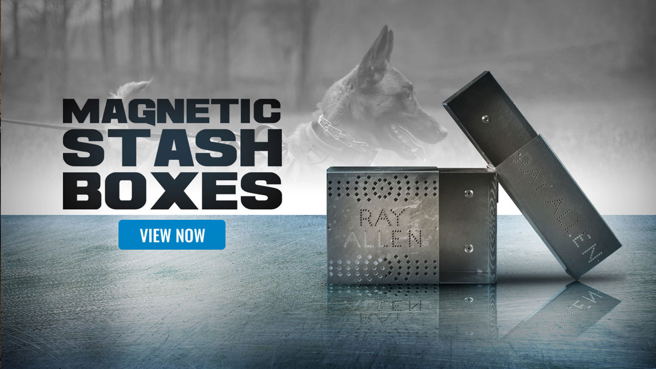Ray Allen Magnetic Stash Boxes - K9 Scent Work Training