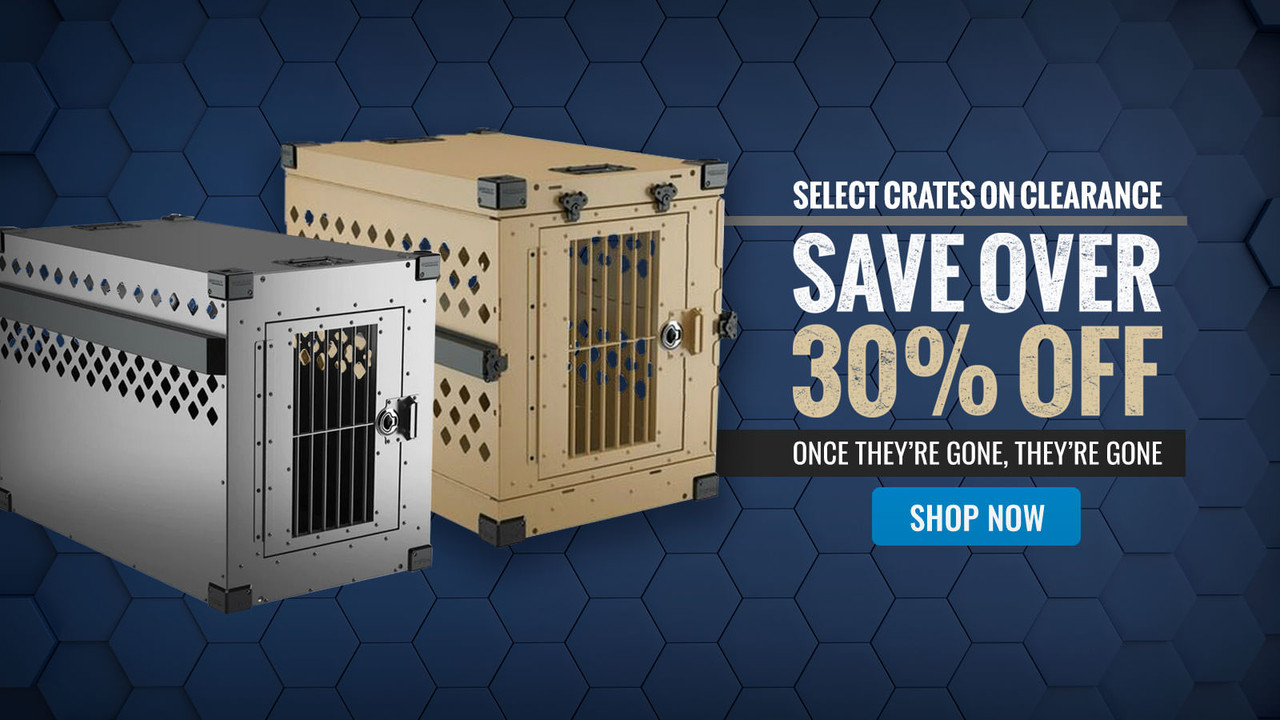 Impact Crates; High Anxiety Dog Crates, Collapsible  Dog Crates, and Stationary Dog Crates - On Sale; Save 30%