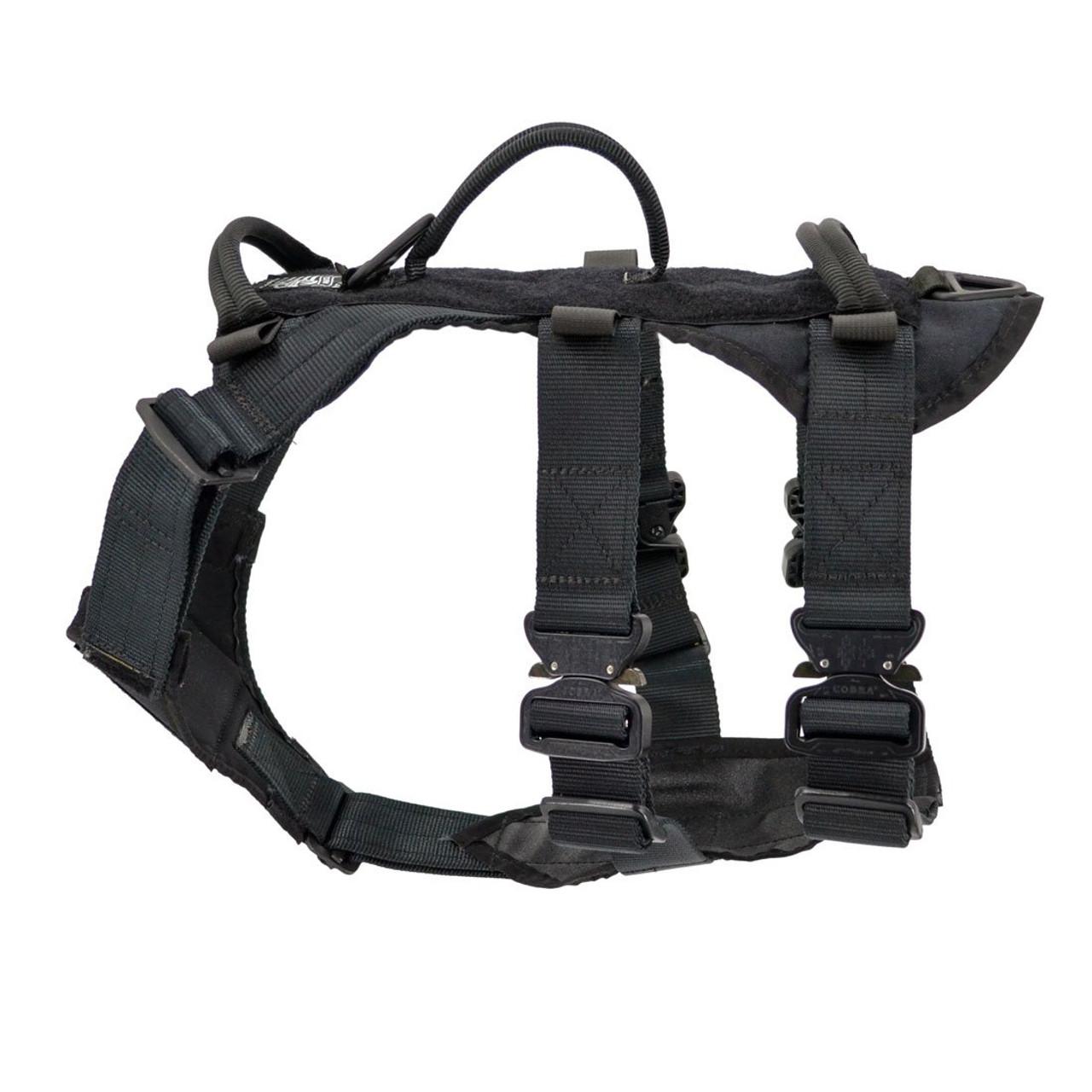 Greek style white /& black harness