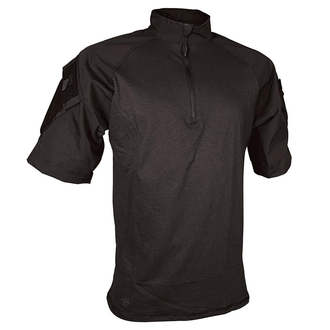 Tru Spec Short Sleeve 1 4 Zip Combat Shirt Combat Shirt Tactical Shirt Ray Allen Manufacturing