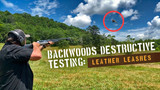 Backwoods Destructive Testing: Leather Dog Leashes
