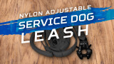 7-in-1 Nylon Adjustable Service Dog Leash w/Frog Clip Review