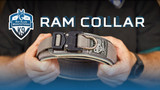 The RAM K9 Collar- Leather/Nylon Agitation and Training Collar
