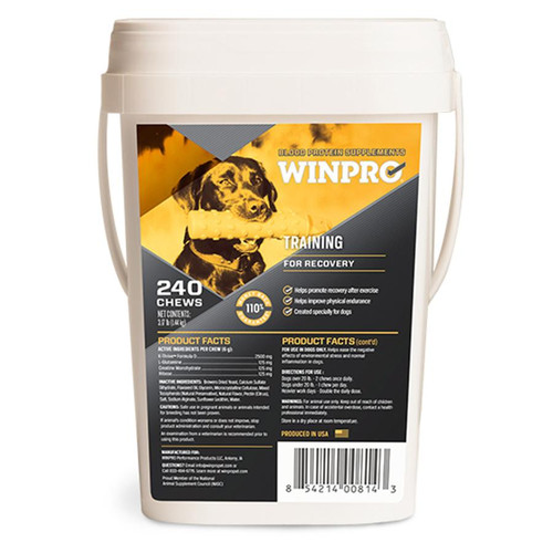WINPRO® Training and Recovery Performance Health Products