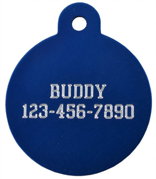 Engraved ID Tags