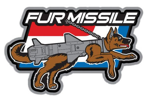 Fur Missile Decal-Full Color