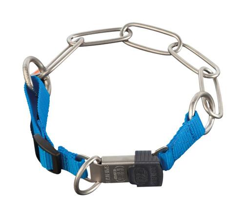 Herm Sprenger Matte Stainless Steel and Nylon Fur Saver Collars