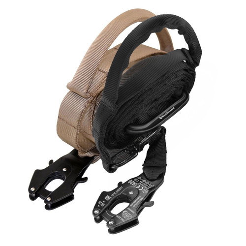 Nylon Adjustable Service Dog Leash with Frog Clip