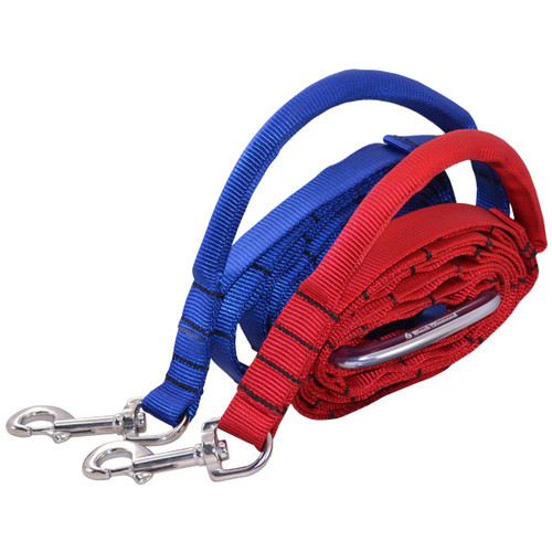 Nylon Adjustable Service Dog Leash with Bolt Snap