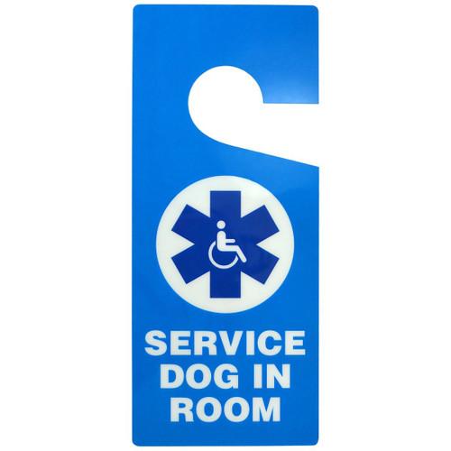 Service Dog In Room Door Hanger