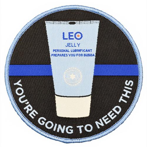 Law Enforcement - Leo Lube Morale Patch