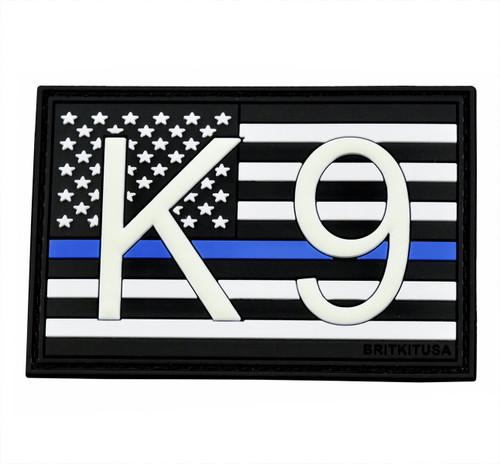 K9 Flag PVC Morale Patch