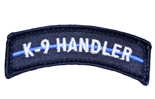 Thin Blue Line K9 Handler Patch