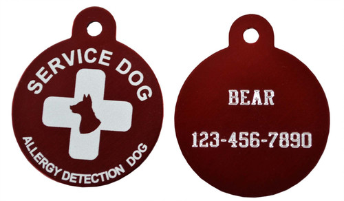 Service Dog Tags