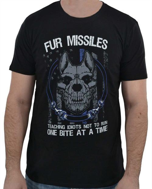 K9 Fur Missiles T-Shirt