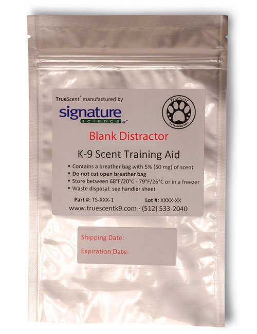 """TrueScent Blank """"Distractor"""" Training Aid by Signature Science"""