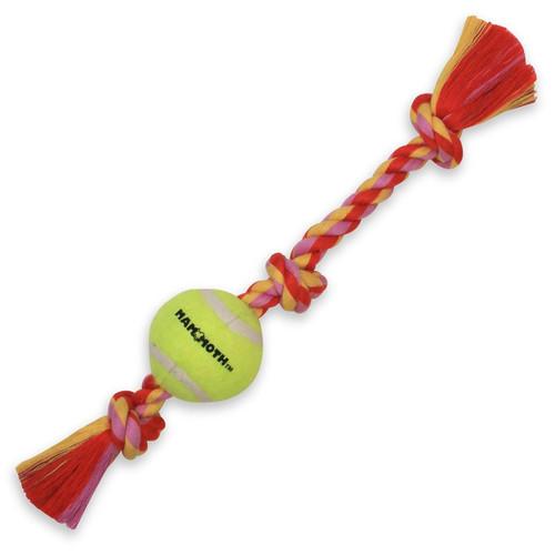Mammoth 3 Knot Tug with Tennis Ball