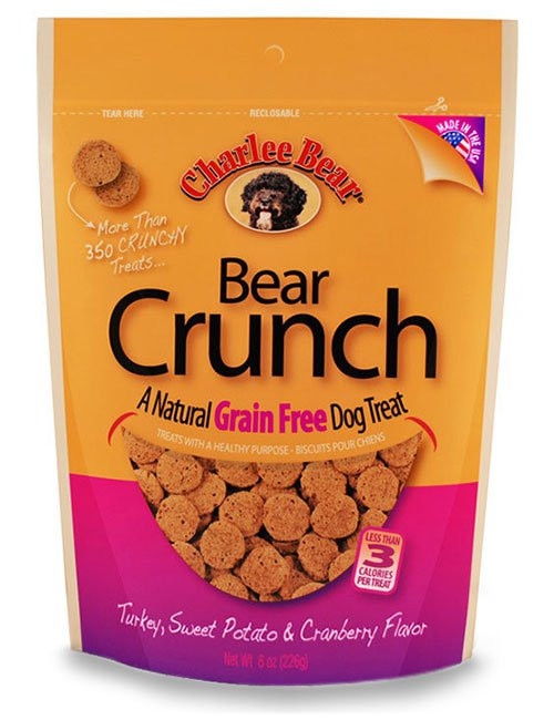 Charlee Bear Turkey, Sweet Potato & Cranberry Crunch Treat