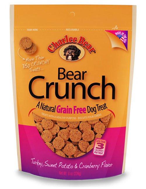 Charlee Bear Turkey, Sweet Potato & Cranberry Crunch Treat