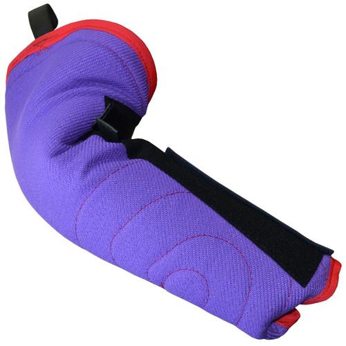 Purple Velcro Hidden Sleeve