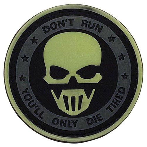 Don't Run Glow Morale Patch