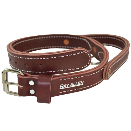 Latigo Leather Agitation Collar With Handle