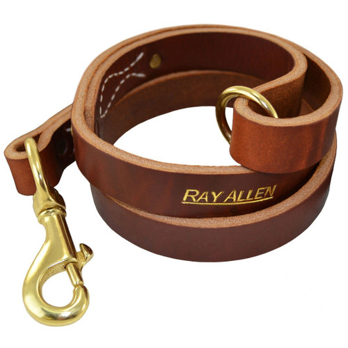 Old World Leather Waist Leads