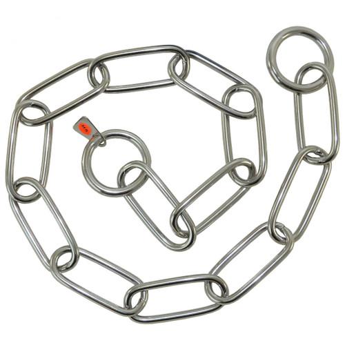 Fur Saver Stainless Steel Choke Chain Collars