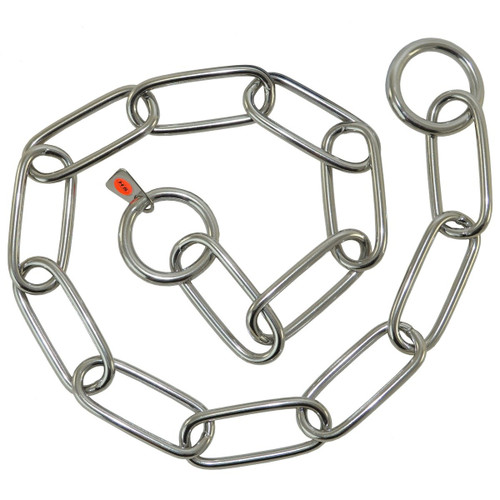 Fur Saver Stainless Steel Choke Chain Collars