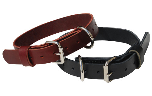 Single Layer Leather Collar
