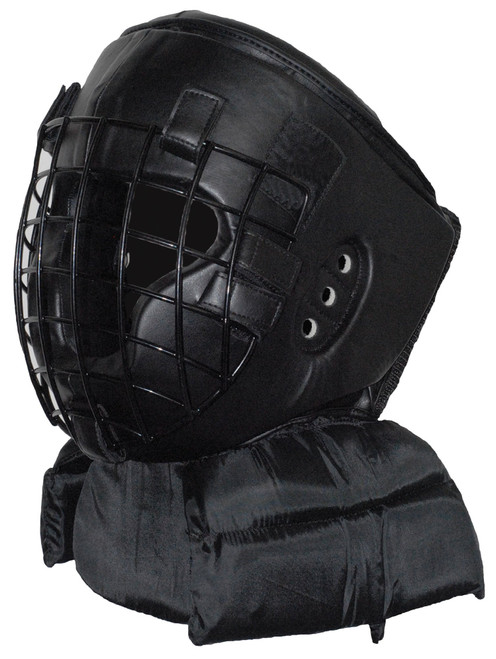 Protective Helmet with Faceguard