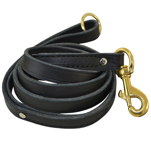 Standard Obedience Leash with Ring