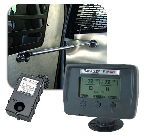 F3 K-9 Deployment and Heat Alert System with Pager