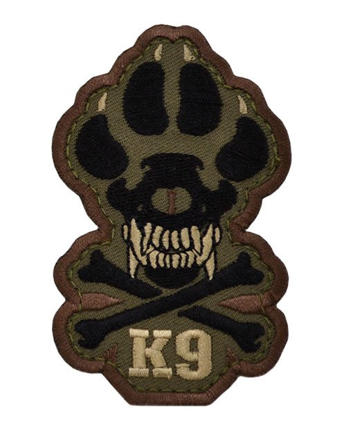 K9 Patch - Skull and Crossbones