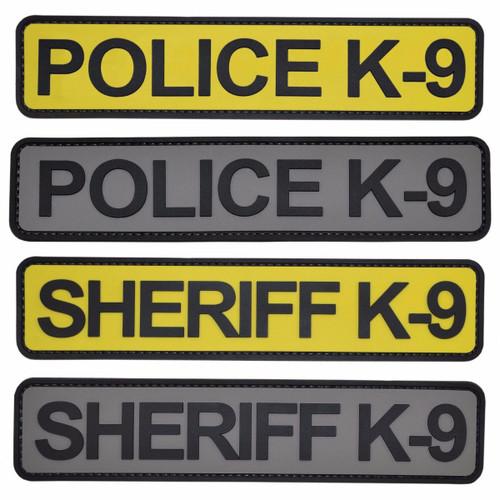 PVC K-9 Tabs