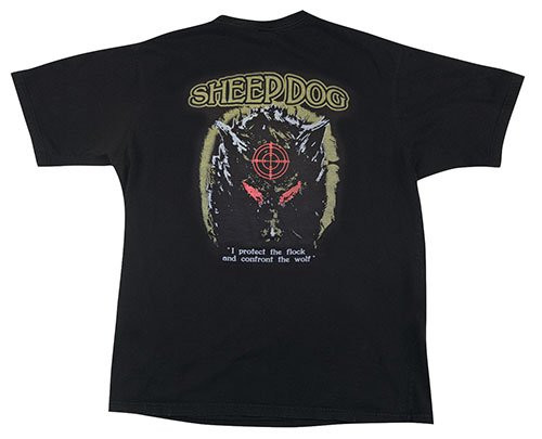 Sheep Dog Protects the Flock T-Shirt