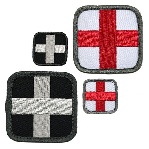 Embroidered Square Medical Patch