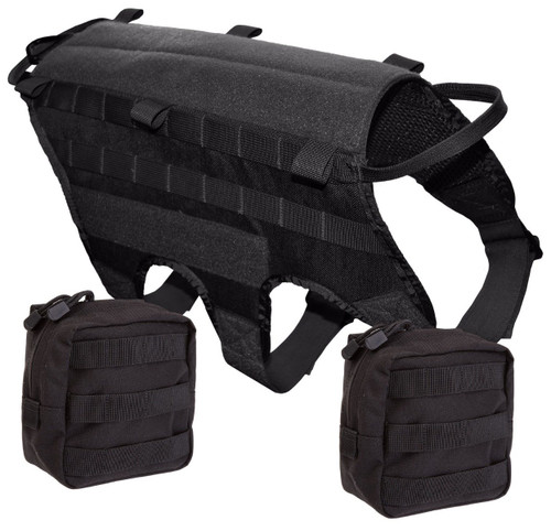Ultimate Combo Black Harness with 5.11 Pouch Kit