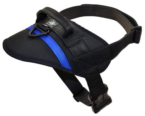 Kinetic Duty Harness - Black with Blue Line
