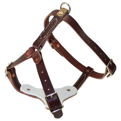 Latigo Leather Tracking Harness