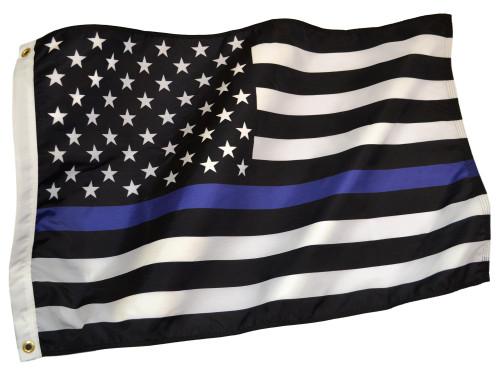 Thin Blue Line US Flag