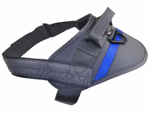 Kinetic Duty Harness - Gray with Blue Line